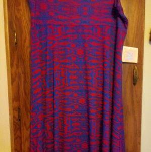 NWT Lularoe sz 3xl Maxi Skirt